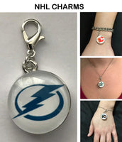 Tampa Bay Lightning NHL Clip Charm for Bracelets, Necklaces, etc.