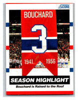 (HCW) 2010-11 Score Glossy #3 Emile Bouchard Canadiens Mint