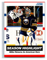 (HCW) 2010-11 Score Glossy #15 Ryan Miller Sabres Mint