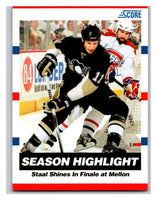 (HCW) 2010-11 Score Glossy #29 Jordan Staal Penguins Mint