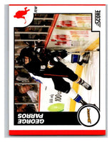 (HCW) 2010-11 Score Glossy #40 George Parros Ducks Mint