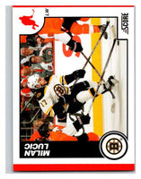 (HCW) 2010-11 Score Glossy #70 Milan Lucic Bruins Mint