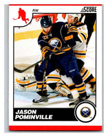 (HCW) 2010-11 Score Glossy #82 Jason Pominville Sabres Mint