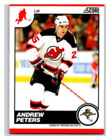 (HCW) 2010-11 Score Glossy #299 Andrew Peters NJ Devils Mint