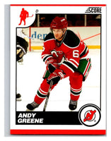 (HCW) 2010-11 Score Glossy #303 Andy Greene NJ Devils Mint
