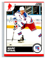 (HCW) 2010-11 Score Glossy #333 Marc Staal NY Rangers Mint