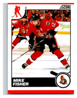 (HCW) 2010-11 Score Glossy #339 Mike Fisher Senators Mint