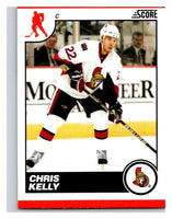 (HCW) 2010-11 Score Glossy #341 Chris Kelly Senators Mint