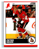 (HCW) 2010-11 Score Glossy #344 Peter Regin Senators Mint