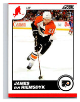 (HCW) 2010-11 Score Glossy #354 James van Riemsdyk Flyers Mint