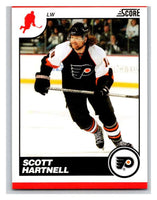 (HCW) 2010-11 Score Glossy #358 Scott Hartnell Flyers Mint