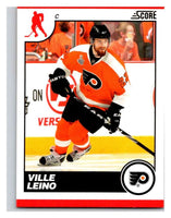 (HCW) 2010-11 Score Glossy #360 Ville Leino Flyers Mint