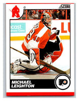 (HCW) 2010-11 Score Glossy #365 Michael Leighton Flyers Mint