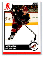 (HCW) 2010-11 Score Glossy #371 Vernon Fiddler Coyotes Mint