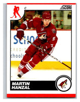 (HCW) 2010-11 Score Glossy #373 Martin Hanzal Coyotes Mint
