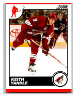 (HCW) 2010-11 Score Glossy #377 Keith Yandle Coyotes Mint