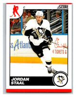 (HCW) 2010-11 Score Glossy #383 Jordan Staal Penguins Mint