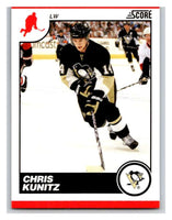 (HCW) 2010-11 Score Glossy #384 Chris Kunitz Penguins Mint