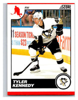 (HCW) 2010-11 Score Glossy #388 Tyler Kennedy Penguins Mint