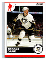 (HCW) 2010-11 Score Glossy #390 Brooks Orpik Penguins Mint
