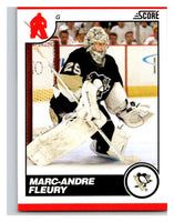 (HCW) 2010-11 Score Glossy #393 Marc-Andre Fleury Penguins Mint