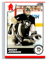 (HCW) 2010-11 Score Glossy #394 Brent Johnson Penguins Mint