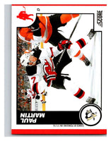 (HCW) 2010-11 Score Glossy #395 Paul Martin Penguins Mint