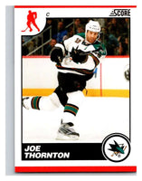 (HCW) 2010-11 Score Glossy #396 Joe Thornton Sharks Mint