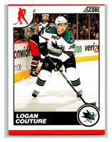 (HCW) 2010-11 Score Glossy #402 Logan Couture Sharks Mint