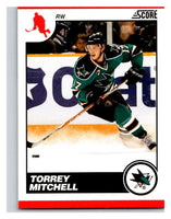 (HCW) 2010-11 Score Glossy #403 Torrey Mitchell Sharks Mint