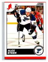 (HCW) 2010-11 Score Glossy #416 Alex Steen Blues Mint