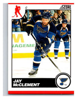 (HCW) 2010-11 Score Glossy #417 Jay McClement Blues Mint