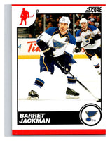 (HCW) 2010-11 Score Glossy #422 Barret Jackman Blues Mint