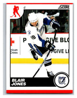 (HCW) 2010-11 Score Glossy #431 Blair Jones Lightning Mint