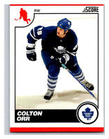 (HCW) 2010-11 Score Glossy #444 Colton Orr Maple Leafs Mint