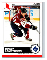 (HCW) 2010-11 Score Glossy #449 Colby Armstrong Maple Leafs Mint