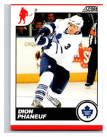 (HCW) 2010-11 Score Glossy #452 Dion Phaneuf Maple Leafs Mint