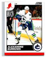 (HCW) 2010-11 Score Glossy #458 Alexandre Burrows Canucks Mint