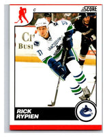 (HCW) 2010-11 Score Glossy #462 Rick Rypien Canucks Mint