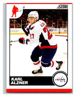 (HCW) 2010-11 Score Glossy #483 Karl Alzner Capitals Mint