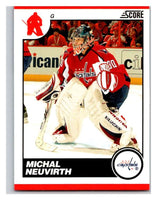 (HCW) 2010-11 Score Glossy #484 Michal Neuvirth Capitals Mint