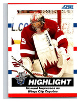 (HCW) 2010-11 Score Glossy #493 Jimmy Howard Red Wings Mint