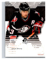 2003-04 SP Authentic #9 Chris Drury Mint