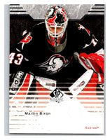 2003-04 SP Authentic #11 Martin Biron Mint