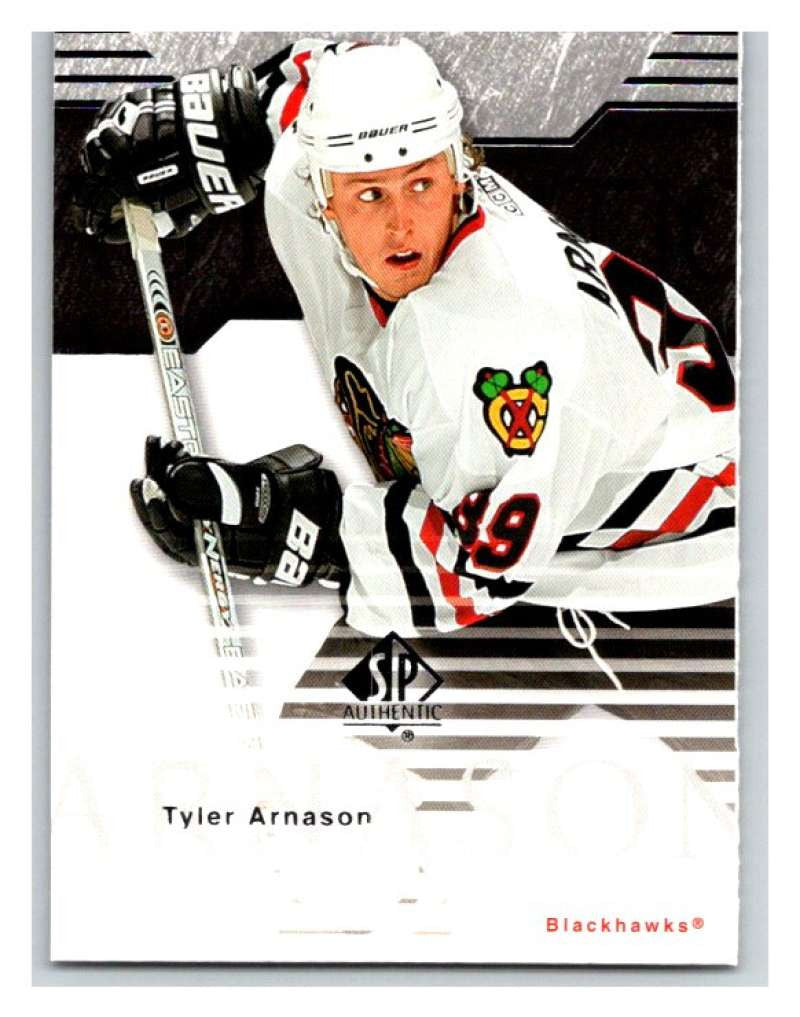 2003-04 SP Authentic #18 Tyler Arnason Mint