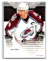 2003-04 SP Authentic #20 Joe Sakic Mint
