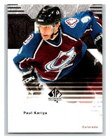 2003-04 SP Authentic #21 Paul Kariya Mint