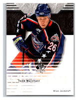 2003-04 SP Authentic #25 Todd Marchant Mint