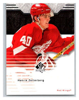 2003-04 SP Authentic #30 Henrik Zetterberg Mint