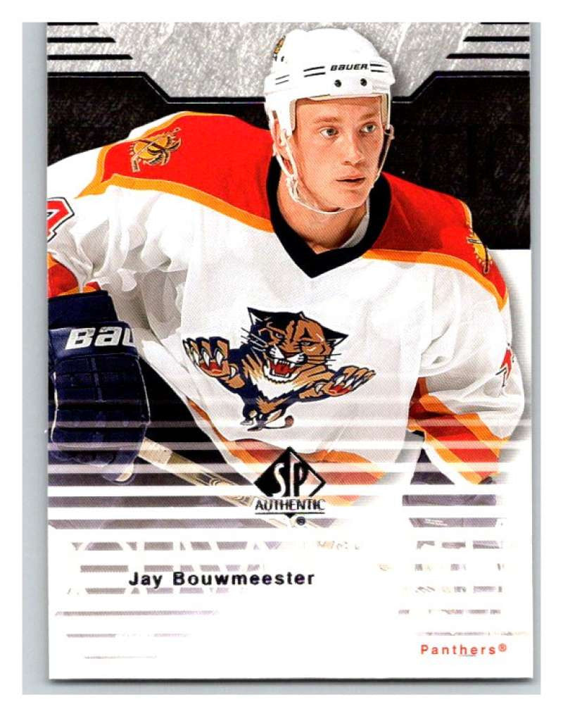 2003-04 SP Authentic #36 Jay Bouwmeester Mint